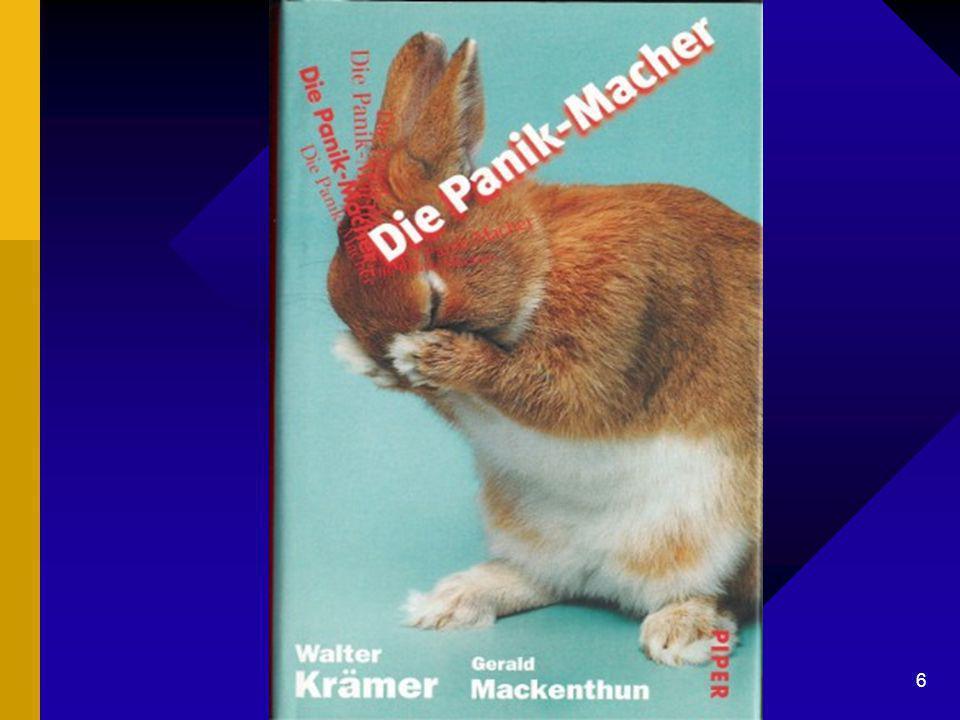 "Dr. G. Mackenthun, Berlin - 7. Mai 2003 6 ""Die Panik-Macher"""