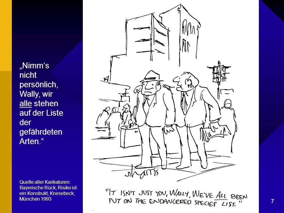 "Dr. G. Mackenthun, Berlin - 7. Mai 2003 7 Liste der gefährdeten Arten ""Nimm's nicht persönlich, Wally, wir alle stehen auf der Liste der gefährdeten A"