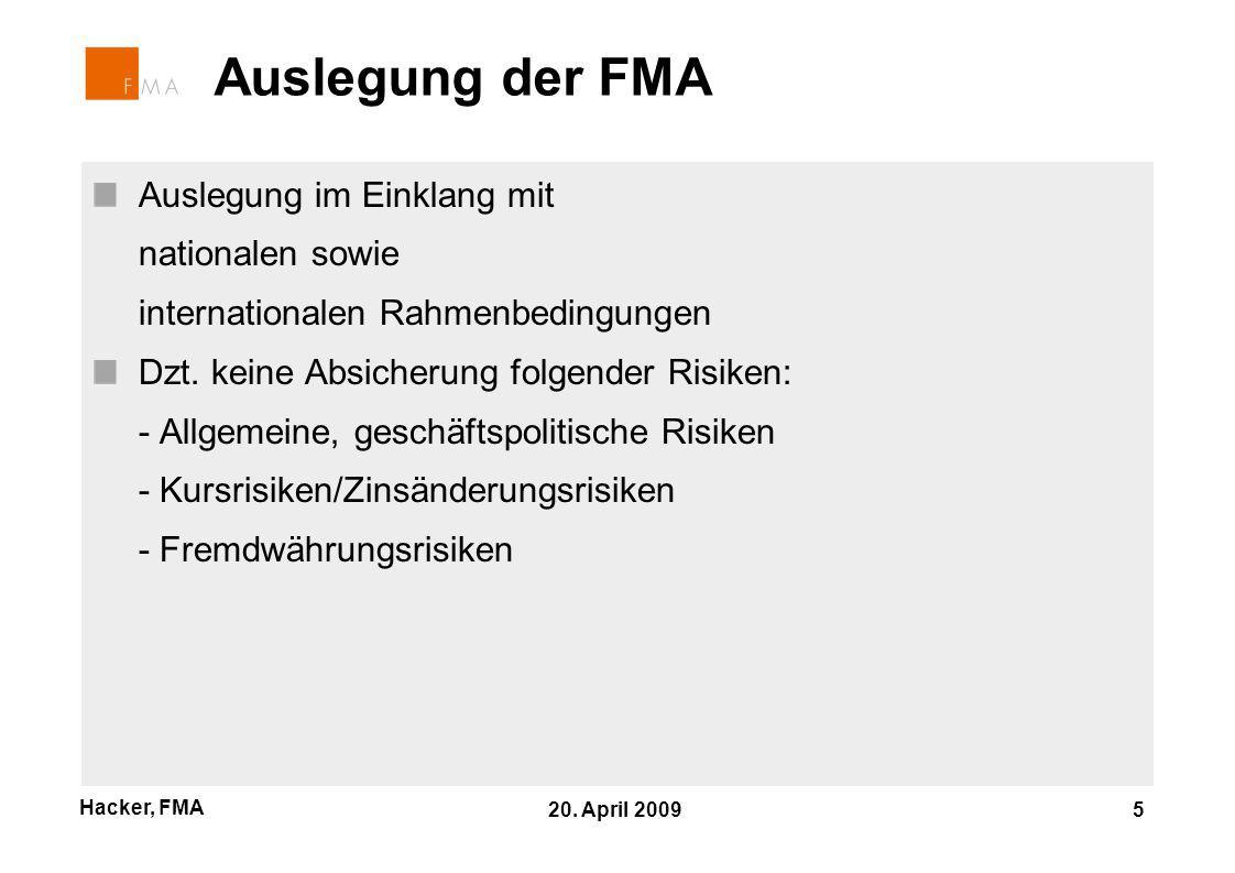 Hacker, FMA 20.