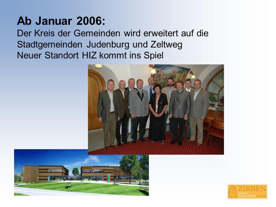 April-November 2006: Planungsworkshops in Eppenstein und Obdach Moderatorinnen: Bibiane Puhl, Christine Bärnthaler