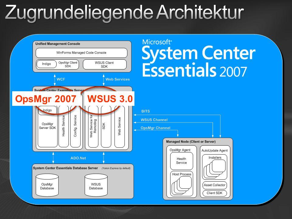 WSUS 3.0OpsMgr 2007