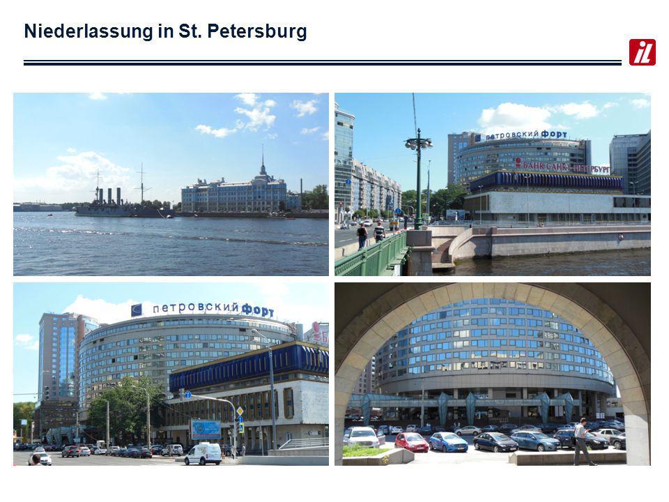 Niederlassung in St. Petersburg