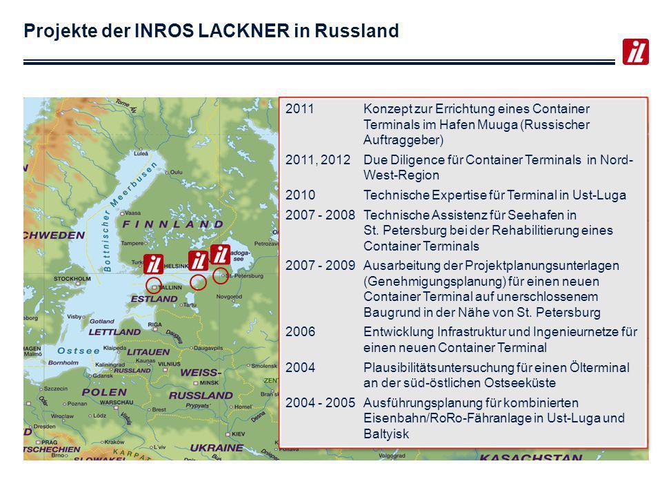 Ausgewählte Referenzen in Russland