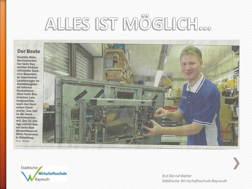 BLK Bernd Walter Städtische Wirtschaftsschule Bayreuth