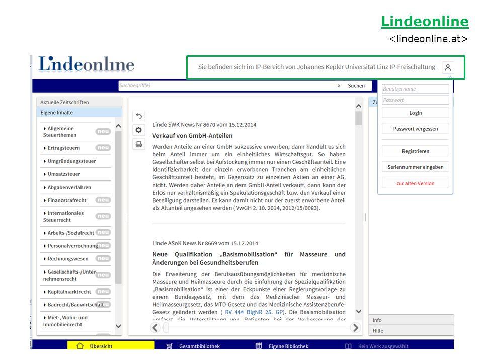 Lindeonline