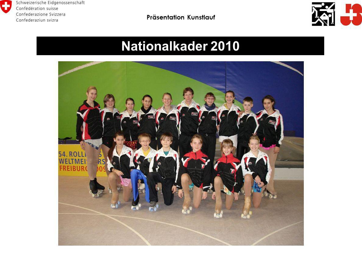 Nationalkader 2010 Präsentation Kunstlauf