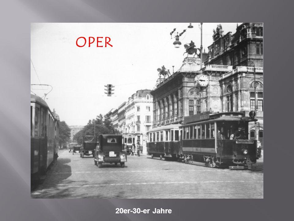 Währinger Gürtel/Nussdorferstraße um 1922