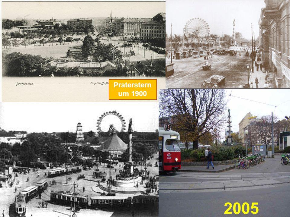 Praterstern um 1900 2005