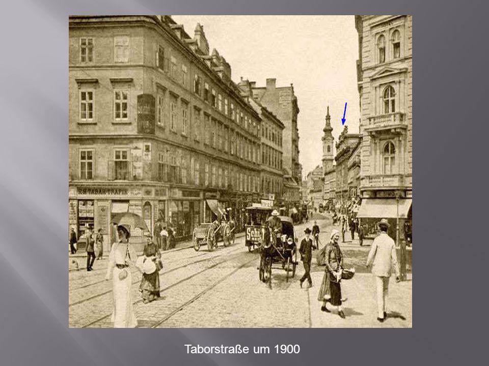 Taborstraße um 1900