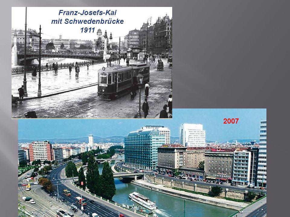 Franz-Josefs-Kai mit Schwedenbrücke 1911 2007
