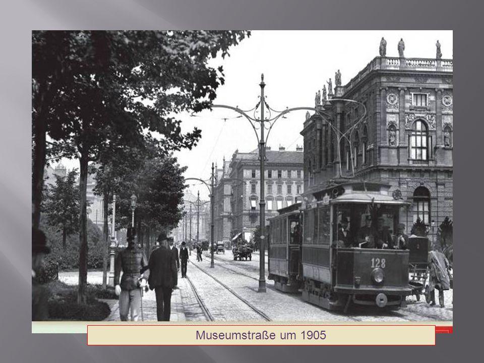 Museumstraße um 1905
