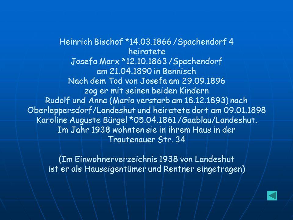 Adolf Marx *13.2.1871 in Spachendorf heiratete am 31.10.1897 in Wien Anna Maria Kohut *25.1.1876.