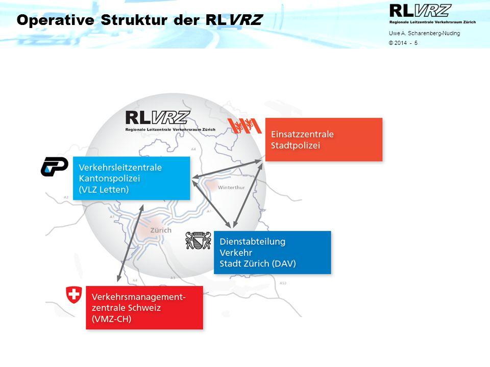 Uwe A. Scharenberg-Nuding © 2014 - 5 Operative Struktur der RLVRZ