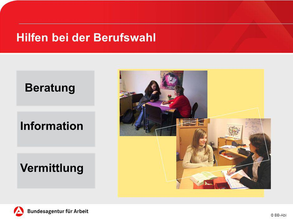 © BB-Abi Hilfen bei der Berufswahl