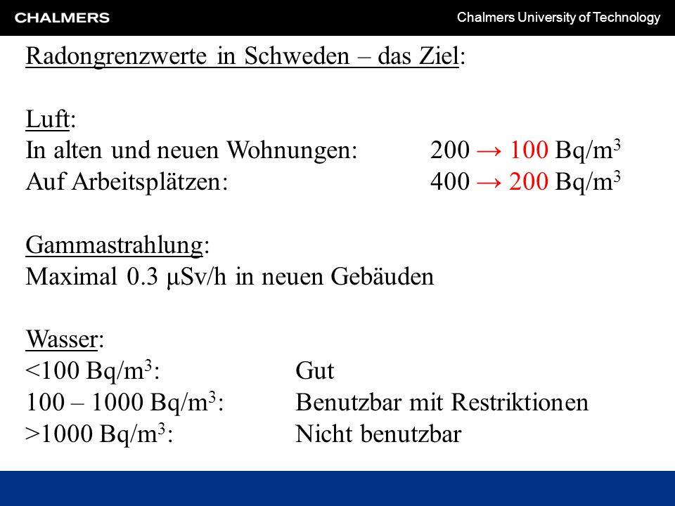 Chalmers University of Technology Die EU-Direktive von 28.