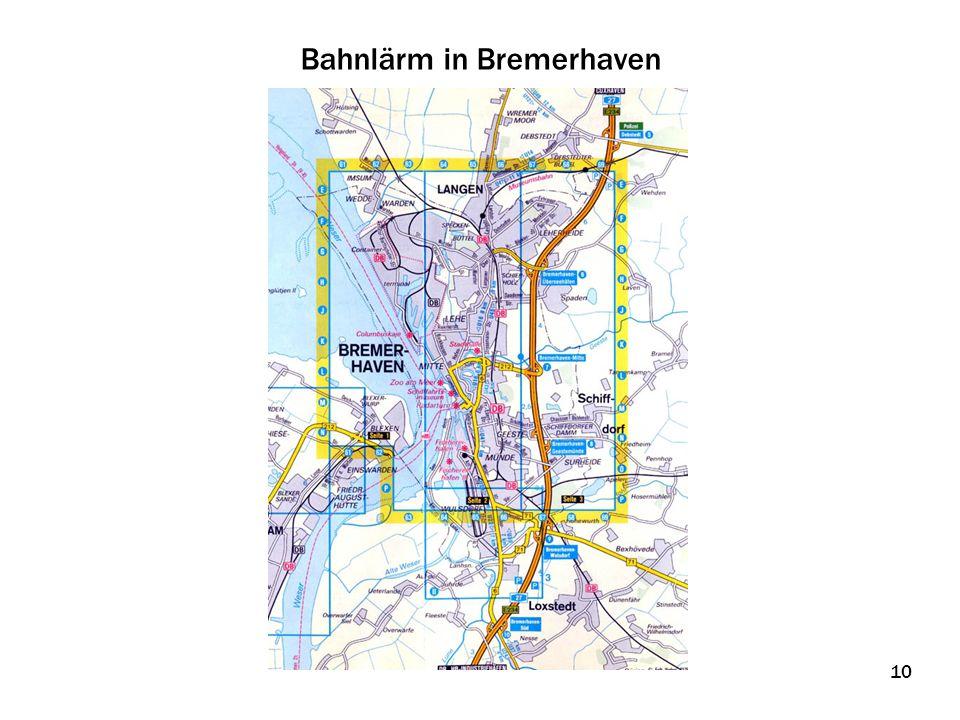 Bahnlärm in Bremerhaven 10
