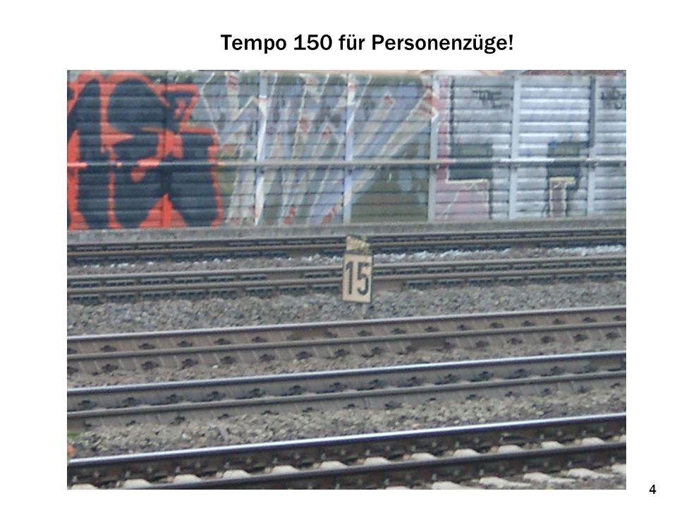 Tempo 150 für Personenzüge! 4
