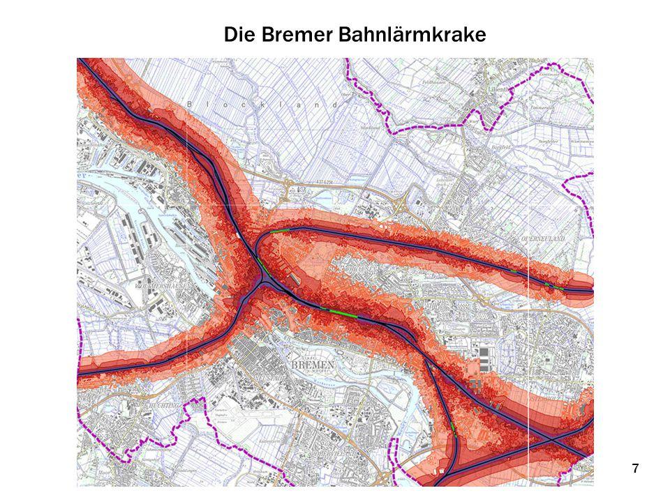 Die Möglichkeiten sind bekannt - Prof.Markus Hecht, TU-Berlin: - 25 dB(A) sind technisch machbar.