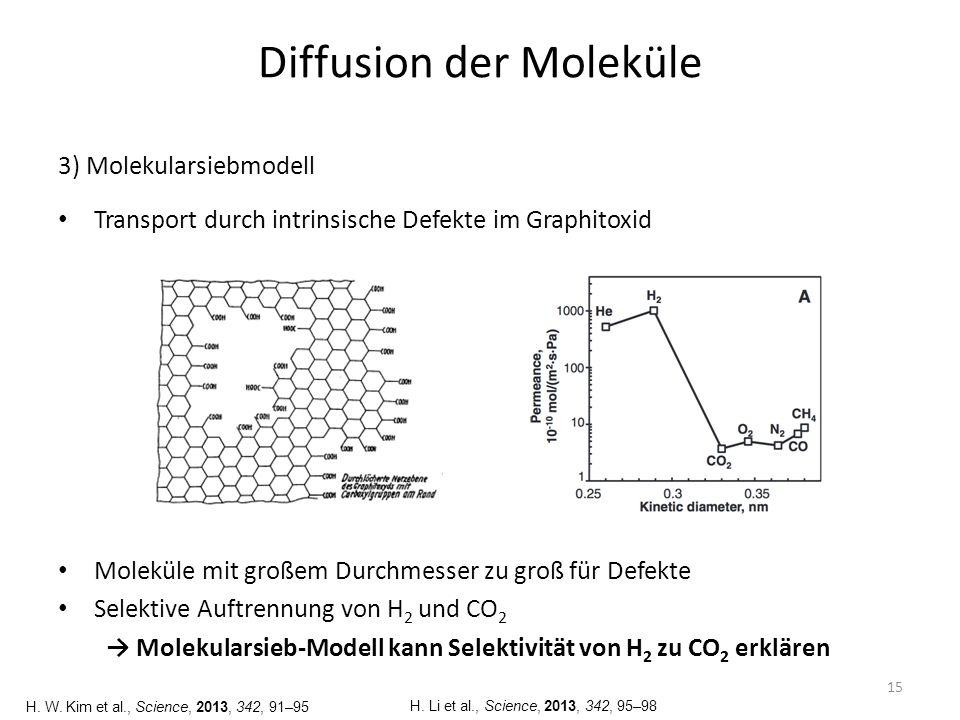 Zusammenfassung Mechanisch und chemisch stabil Findet keine Anwendung als Reaktormembran 16 Polymer- membranen Poröse Keramiken Metall- membranen Graphitoxid Temperaturbereich<100 °C200-600 °C <100 °C Selektivität [H 2 /CO 2 ] 5-50010-5000>1000500-3400 H 2 -Transmission [mmol/s ⋅ m 2 ⋅ bar] 0,1-110-300100-100010-20 Kostengeringhoch L.