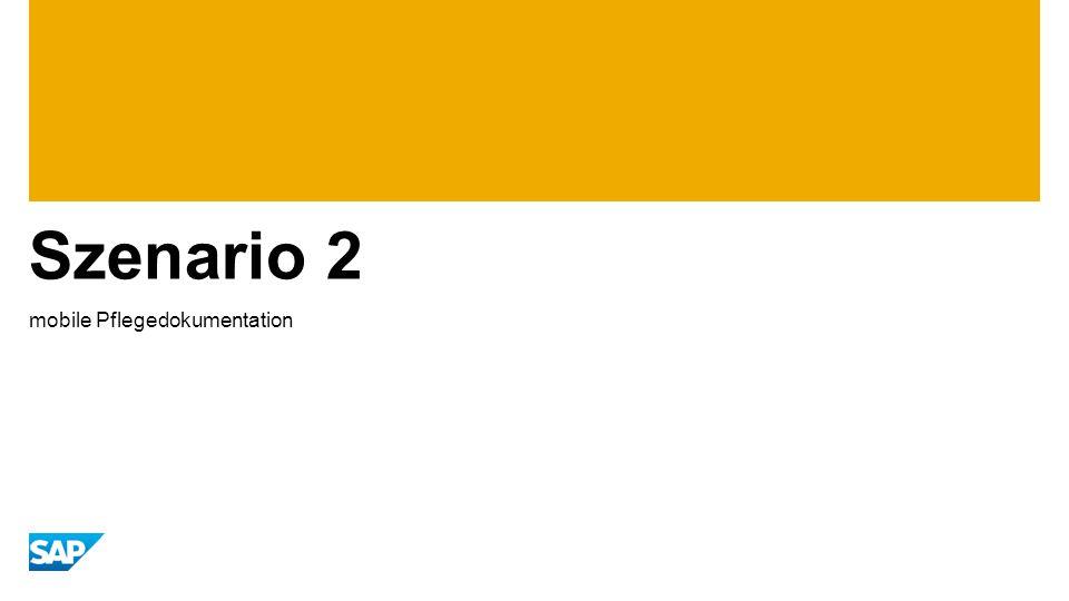 Szenario 2 mobile Pflegedokumentation