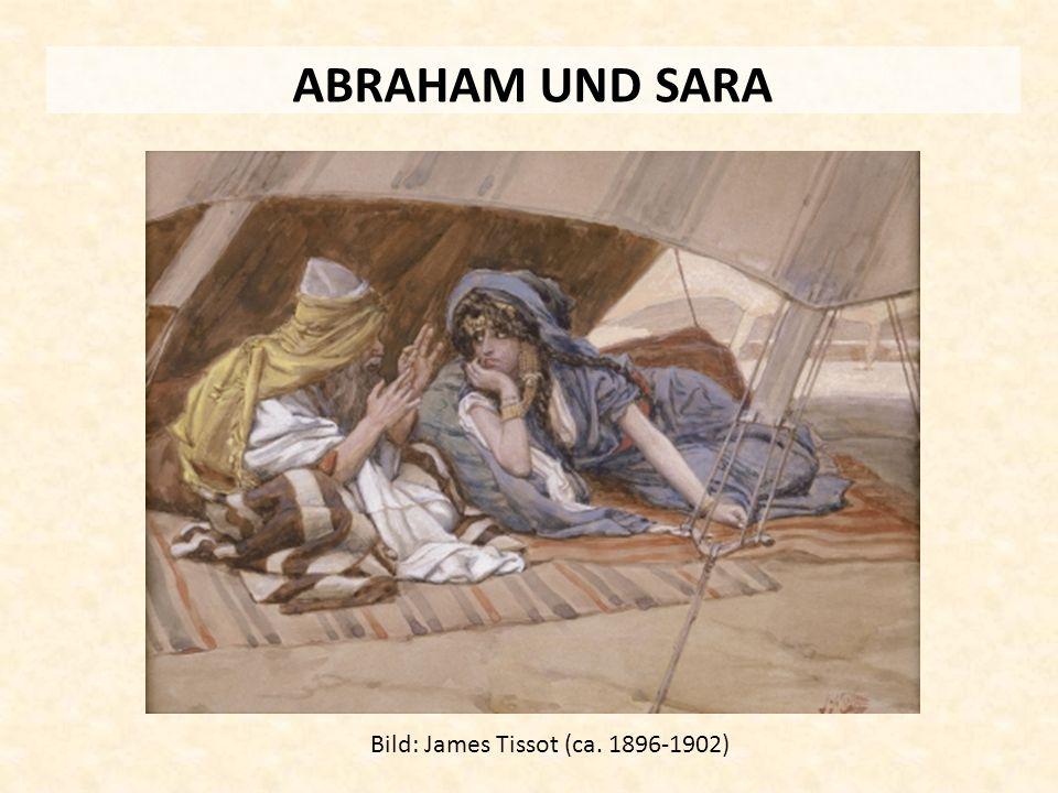 ABRAHAM UND SARA Bild: James Tissot (ca. 1896-1902)