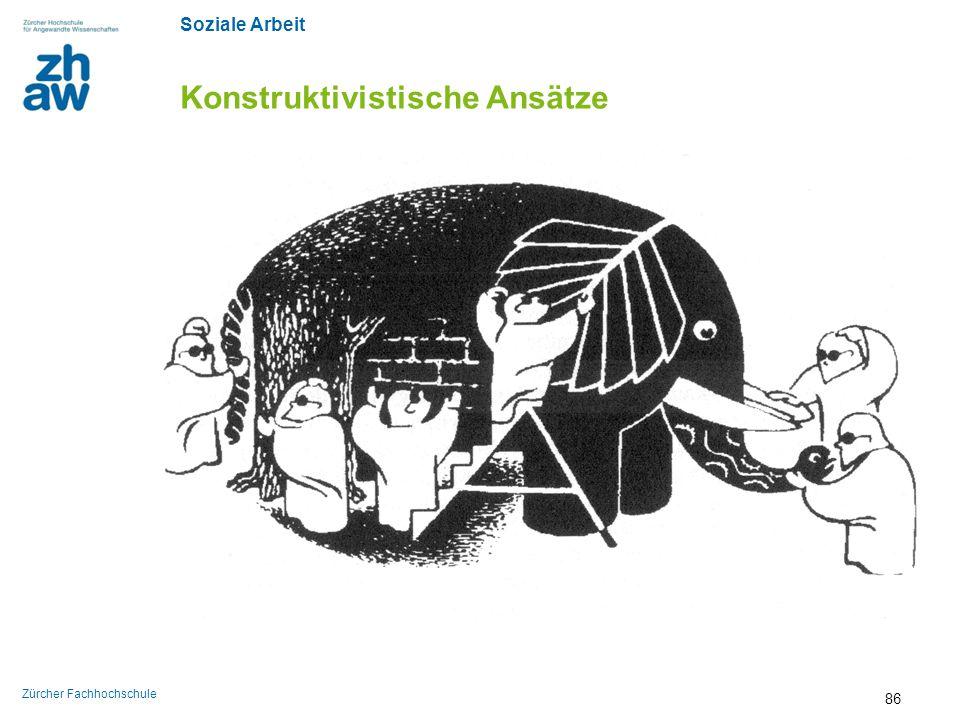 Soziale Arbeit Zürcher Fachhochschule Konstruktivistische Ansätze 86