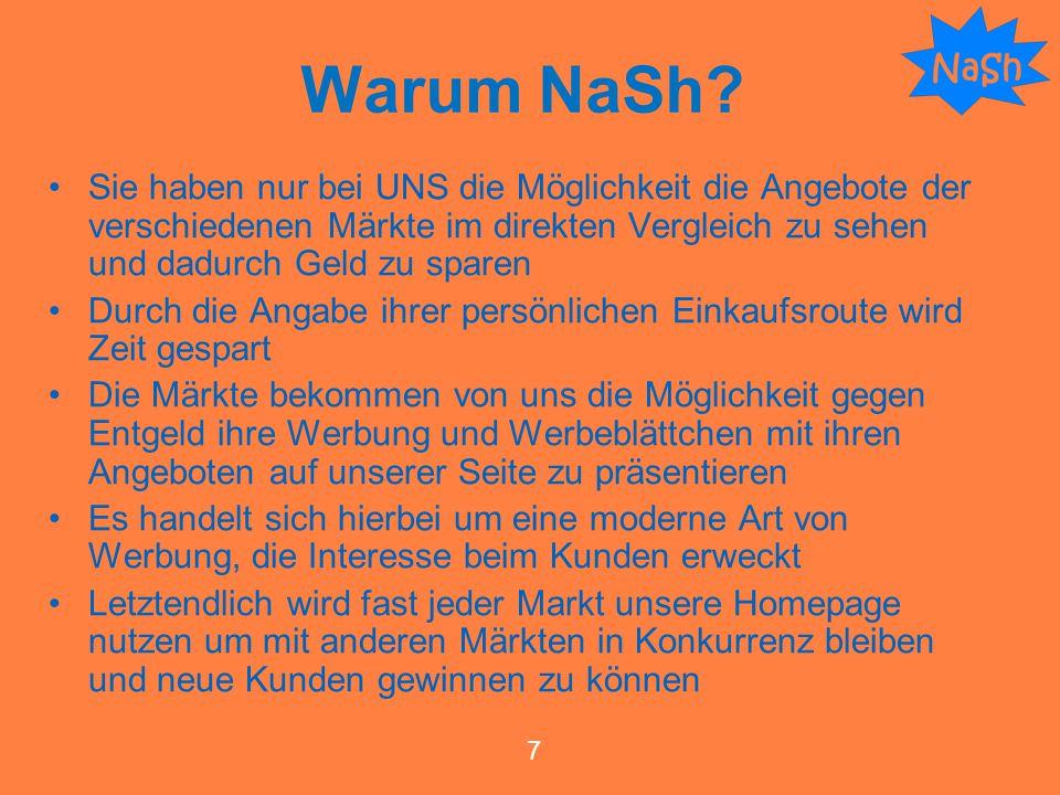 Warum NaSh.