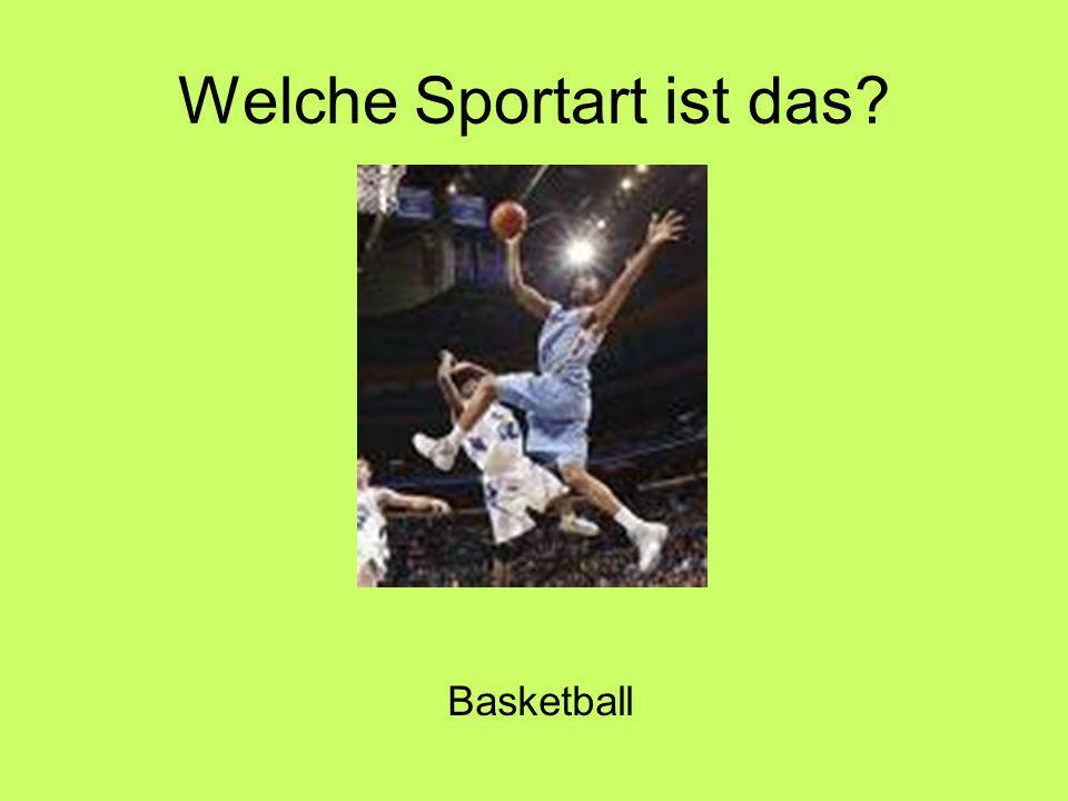 Welche Sportart ist das Basketball