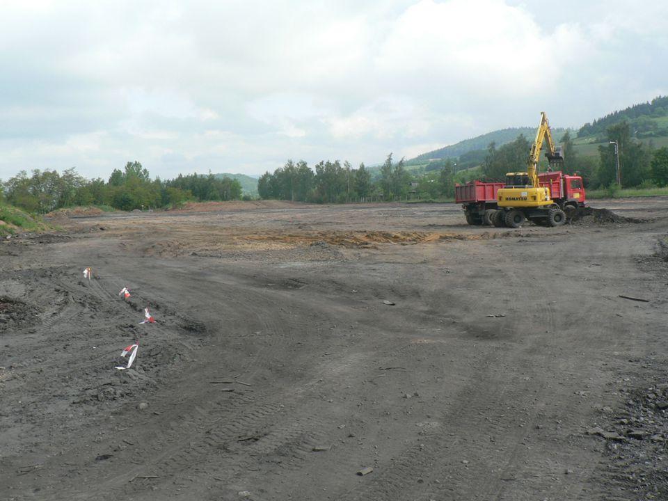 """19 """" Noworudzki Park Przemysłowy – I etap realizacji"""" projekt współfinansowany przez Unię Europejską ze środków Europejskiego Funduszu Rozwoju Regiona"""