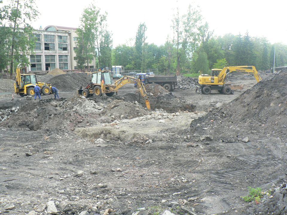 """20 """" Noworudzki Park Przemysłowy – I etap realizacji"""" projekt współfinansowany przez Unię Europejską ze środków Europejskiego Funduszu Rozwoju Regiona"""
