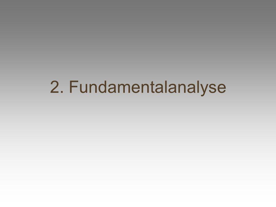 2. Fundamentalanalyse
