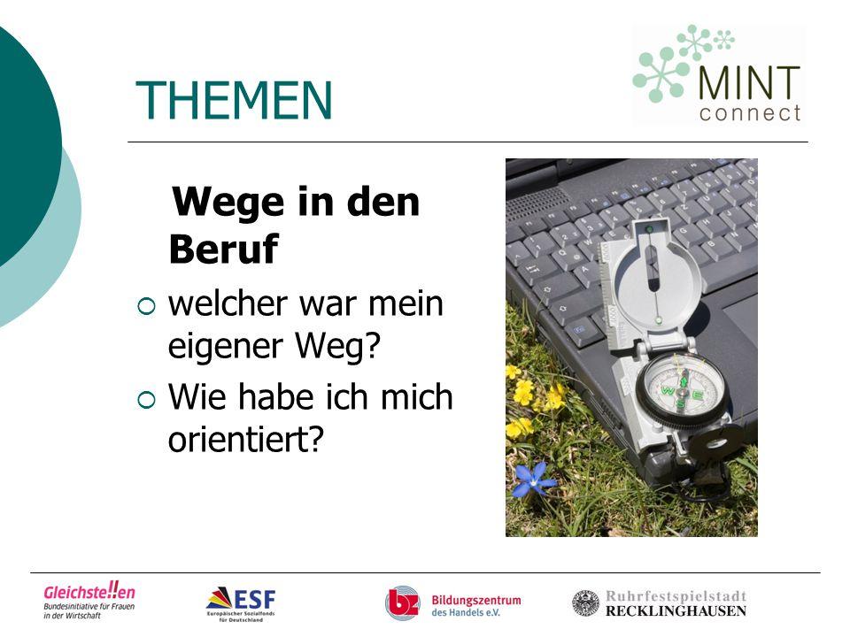 """MINT-connect  Projekt im Rahmen der Bundesinitiative """"Gleichstellung von Frauen in der Wirtschaft  Eins der Ziele: 50 Mädchen aus Recklinghausen heranführen an handwerkliche und technisch- gewerkliche Ausbildungsberufe"""