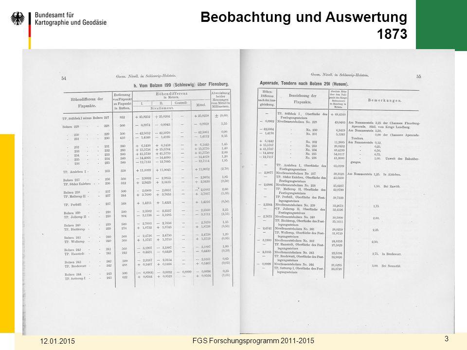 3 Beobachtung und Auswertung 1873 FGS Forschungsprogramm 2011-2015 12.01.2015