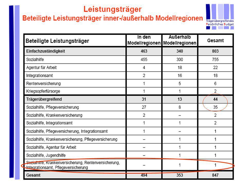 Persönliches Budget für seelisch behinderte Menschen R. Peukert und AKTION PSYCHISCH KRANKE e.V. Modellprojekt Bund