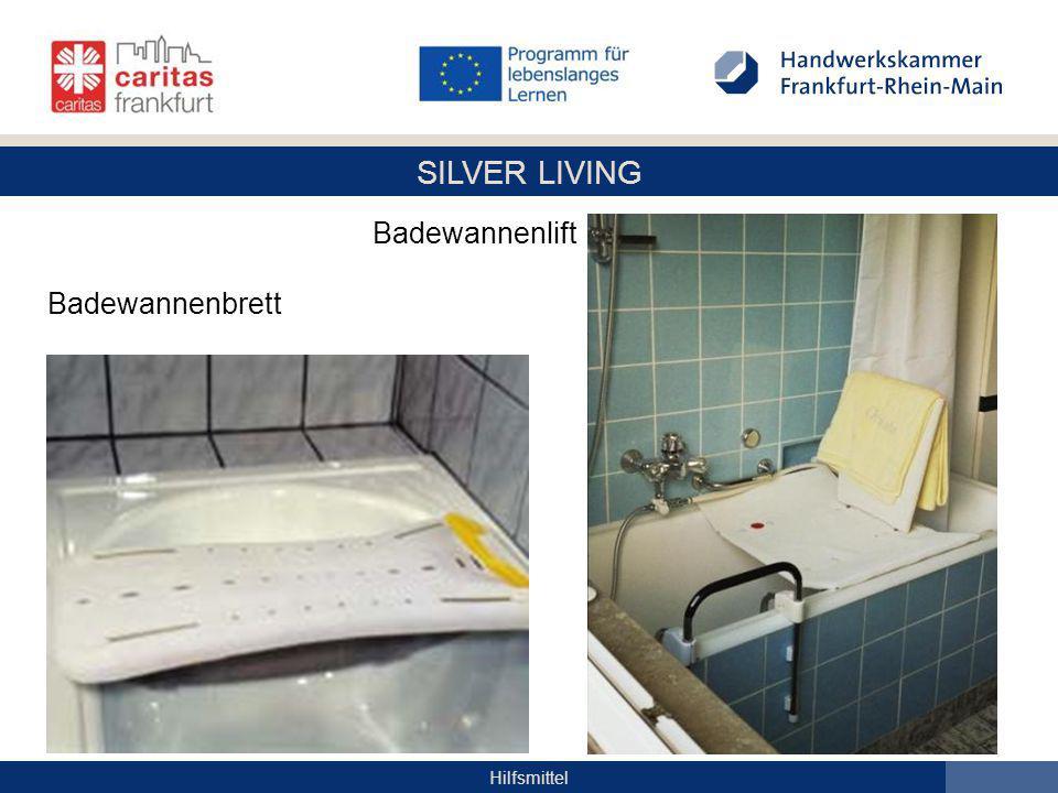 SILVER LIVING Hilfsmittel Badewannenlift Badewannenbrett