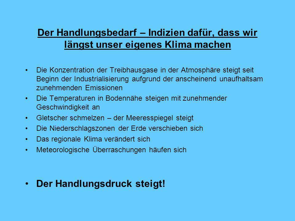 Das deutsche Klimaschutzprogramm – ein schrittweiser Prozess von Dipl.Volksw. Dipl.Betriebsw. Franzjosef Schafhausen Ministerialrat im Bundesministeri