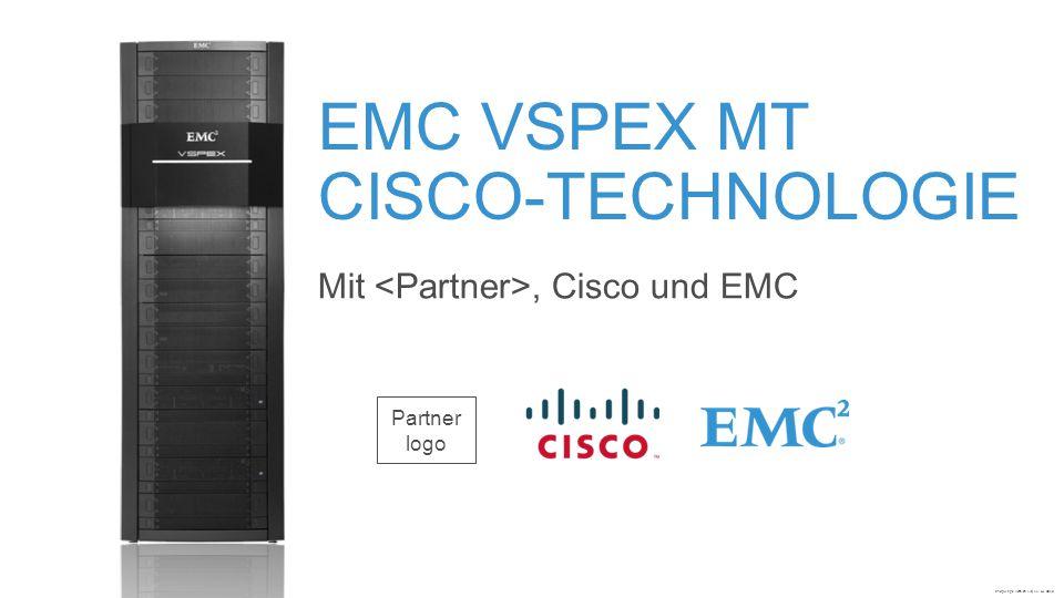 Technische Zusammenarbeit bei VSPEX ReferenzarchitekturLeitfaden zur BereitstellungVon Cisco validiertes Design