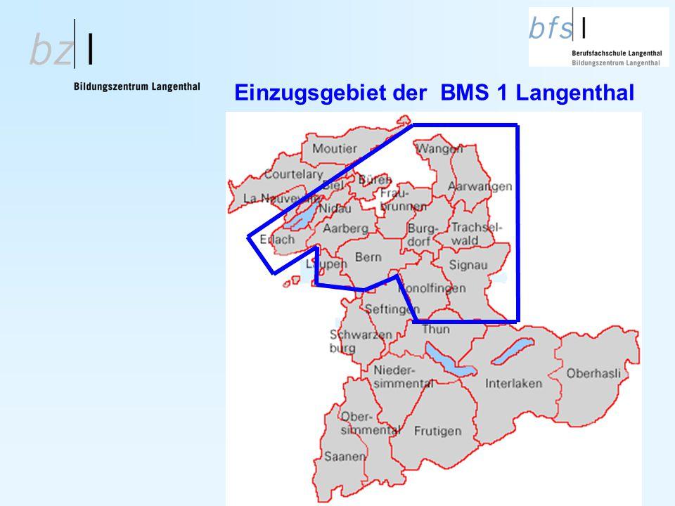 Einzugsgebiet der BMS 1 Langenthal