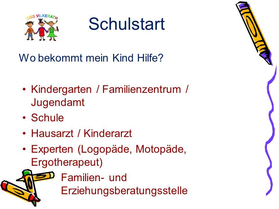 Schulstart 5. Station: Ergebnisse / Rückmeldung Rückmeldung bis März 2015 an die Eltern, möglichst unter Einbeziehung der Erzieherinnen aus dem Kinder