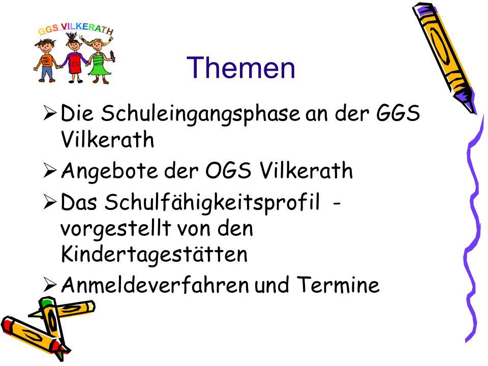 Offene Ganztagsschule/ GGS Vilkerath Frau Leininger/Frau Meynen