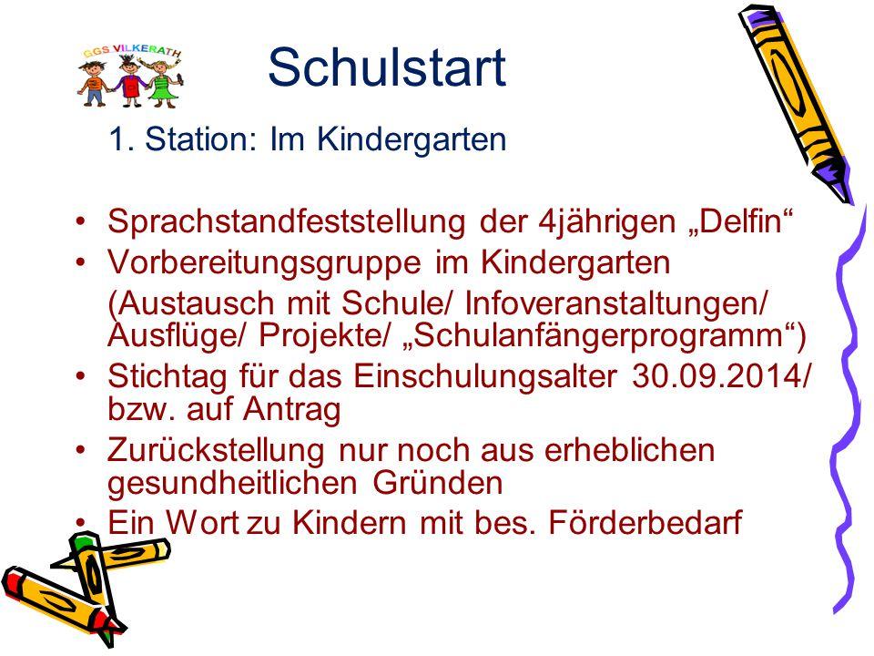 Themen  Die Schuleingangsphase an der GGS Vilkerath  Angebote der OGS Vilkerath  Das Schulfähigkeitsprofil - vorgestellt von den Kindertagestätten