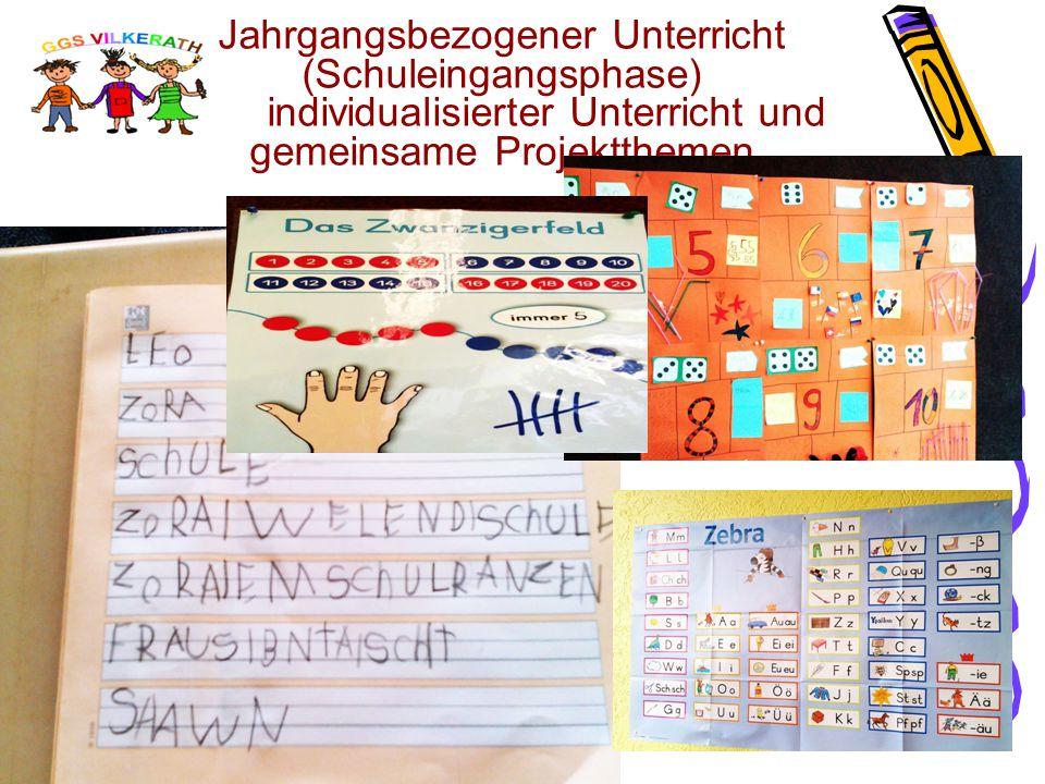 2. Station: Auswahl der Grundschule Welche Schule ist die Richtige für mein Kind? Die GGS Vilkerath 996 Kinder in vier Klassen Feste Bestandteile un