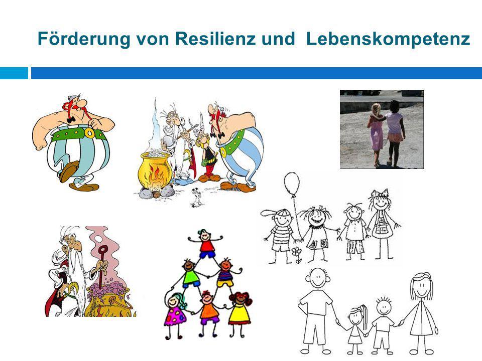 Förderung von Resilienz und Lebenskompetenz