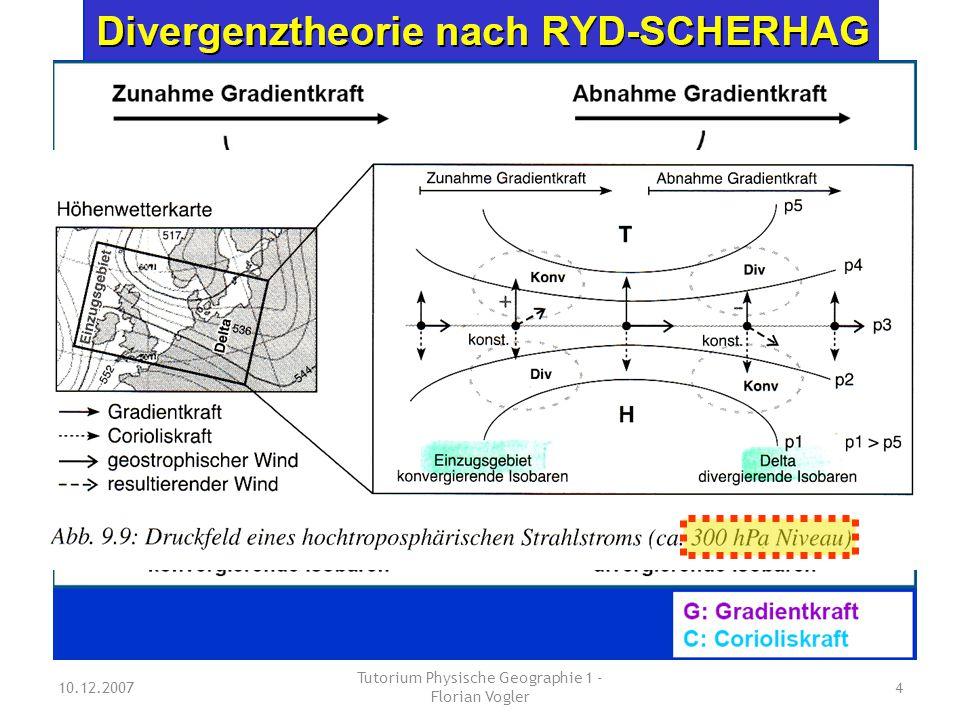 10.12.2007 Tutorium Physische Geographie 1 - Florian Vogler 5 in der Höhe bodennah
