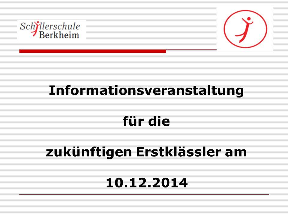 Die Schillerschule Berkheim stellt sich vor  3-zügige Grundschule mit Angebot einer Ganztagsschule von Montag bis Donnerstag von 8.00-15.00 Uhr  Kommunale Betreuung täglich von Montag bis Freitag 7.00 Uhr – 8.00 Uhr Frühbetreuung (kostenpflichtig) 8.00 Uhr – 12.25 Uhr Unterricht mit Bewegungspausen 12.25 Uhr – 14.00 UhrMittagessen / Hausaufgaben 14.00 Uhr – 15.00 UhrAGs, individuelle Angebote 15.00 Uhr – 17.00 UhrSpätbetreuung (kostenpflichtig)