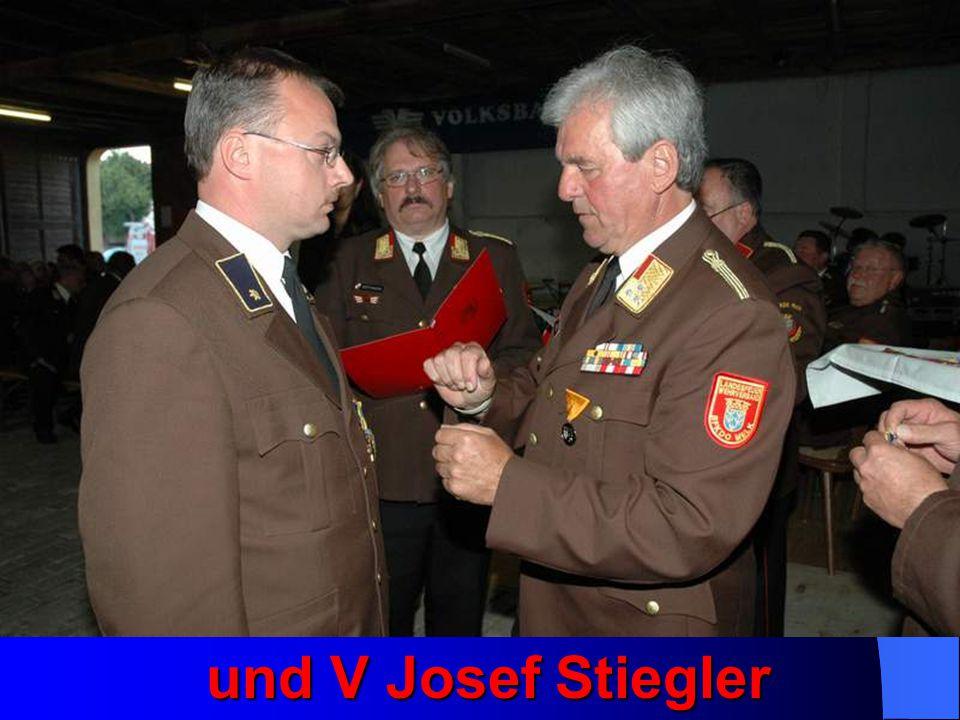 und V Josef Stiegler und V Josef Stiegler