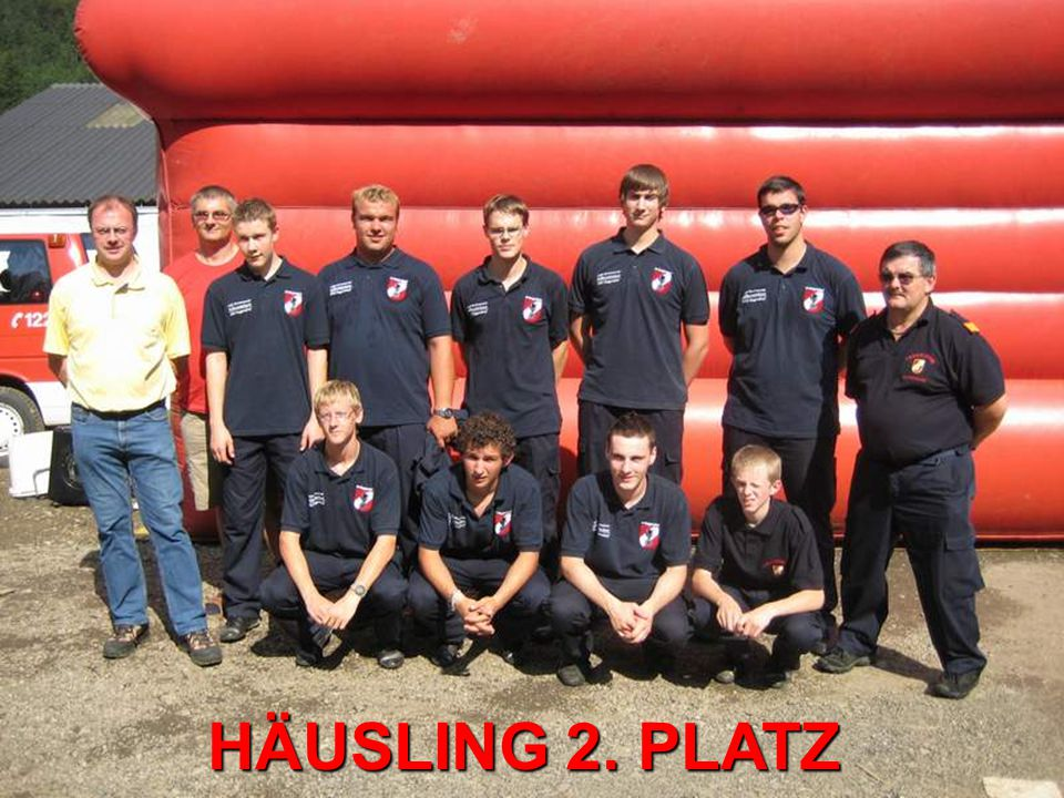 HÄUSLING 2. PLATZ