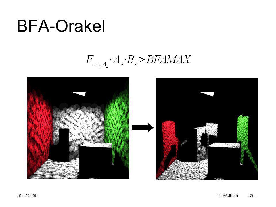 10.07.2008 T. Wallrath - 20 - BFA-Orakel