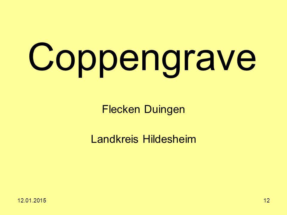 12.01.201512 Coppengrave Flecken Duingen Landkreis Hildesheim