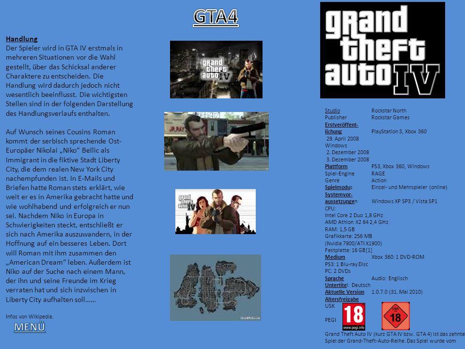 Handlung Der Spieler wird in GTA IV erstmals in mehreren Situationen vor die Wahl gestellt, über das Schicksal anderer Charaktere zu entscheiden. Die